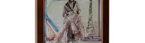 Dama w Paryżu